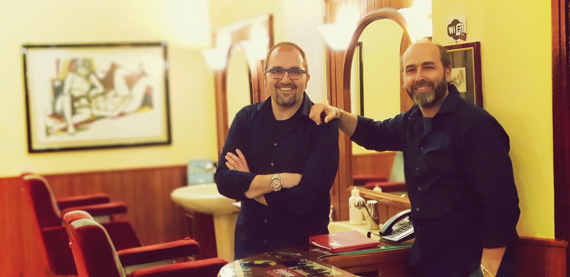 Ivano e Manuel Modafferi barbieri