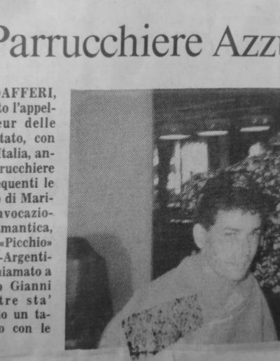 Roberto Baggio e Gianni Modafferi Italia 90 - articolo