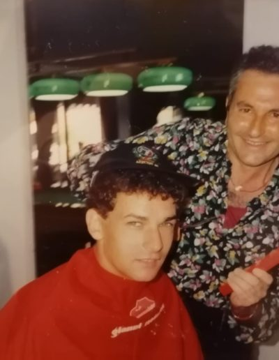 Roberto Baggio e Gianni Modafferi - Italia 90